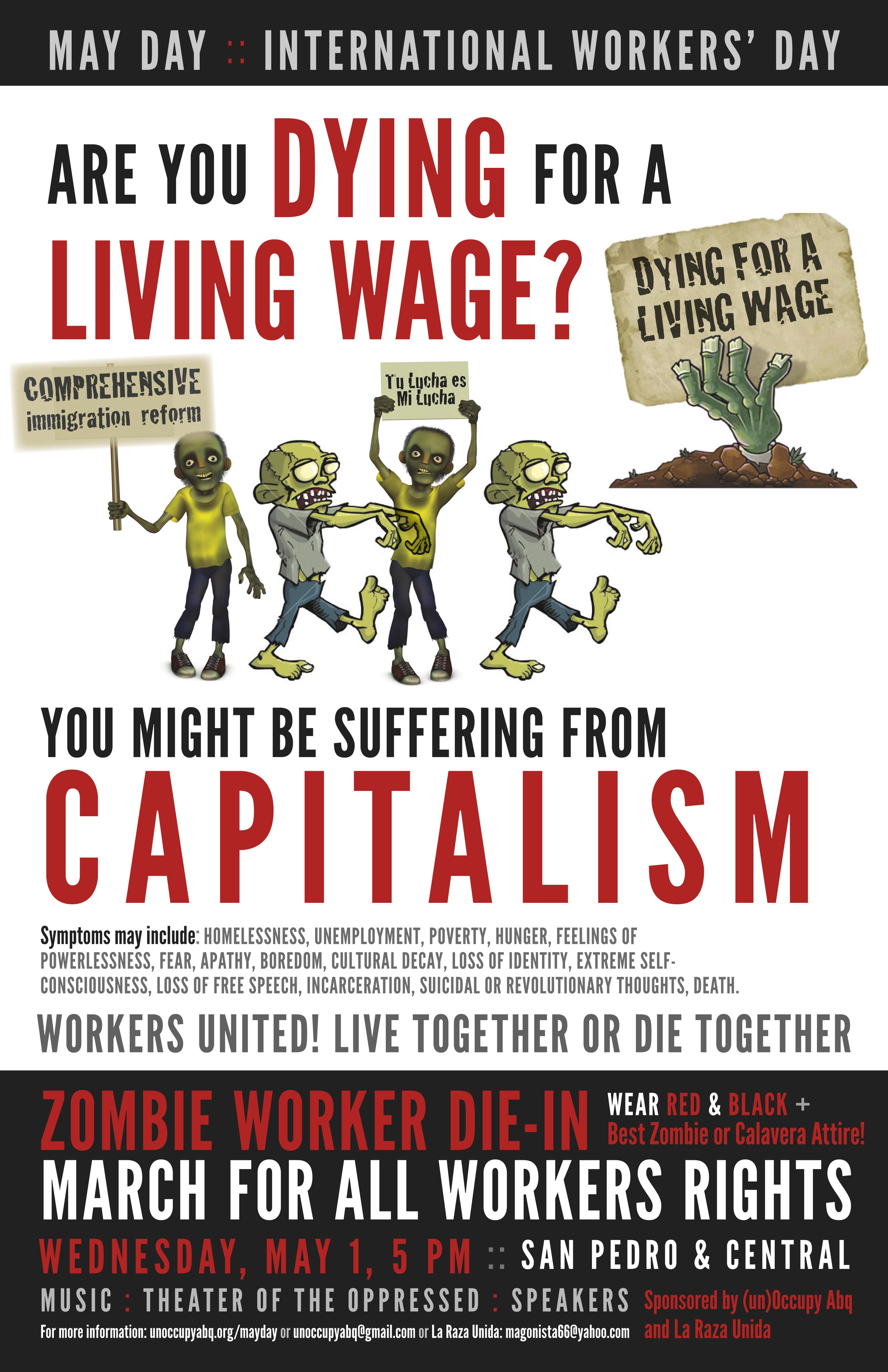flyers un occupy albuquerque